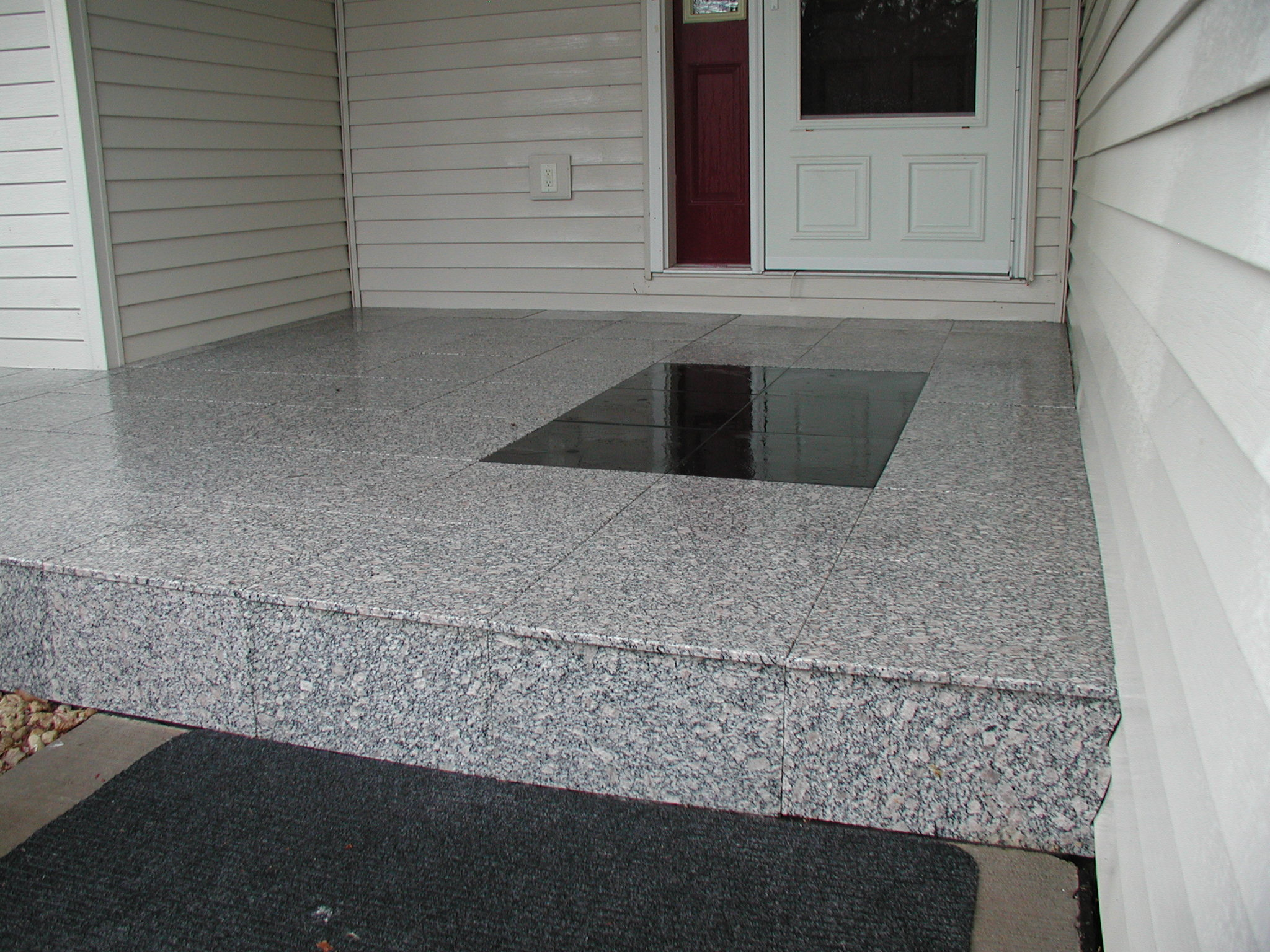 StoneDeck White & Black Granite