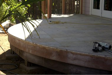 StoneDeck Multi Color Radius Cut