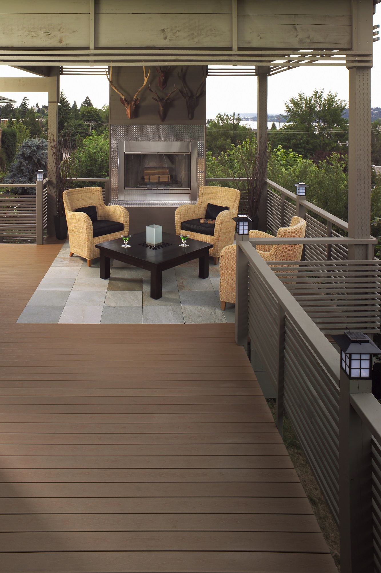 StoneDeck Quartzite Inlay