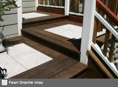 StoneDeck White Granite Inlay