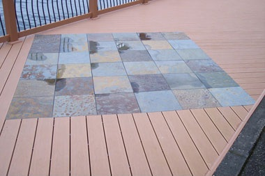 StoneDeck Multi Color Slate Inlay